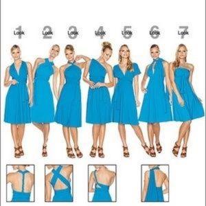 Elan Silky Convertible Dress